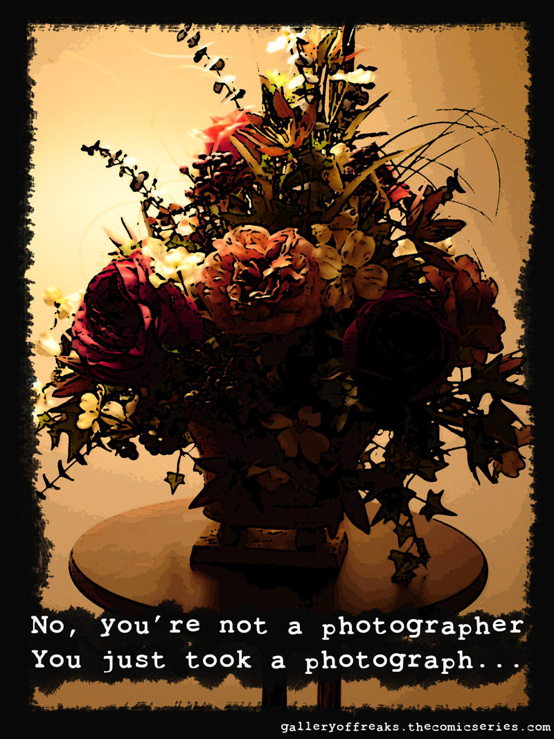 I'm A Photographer!