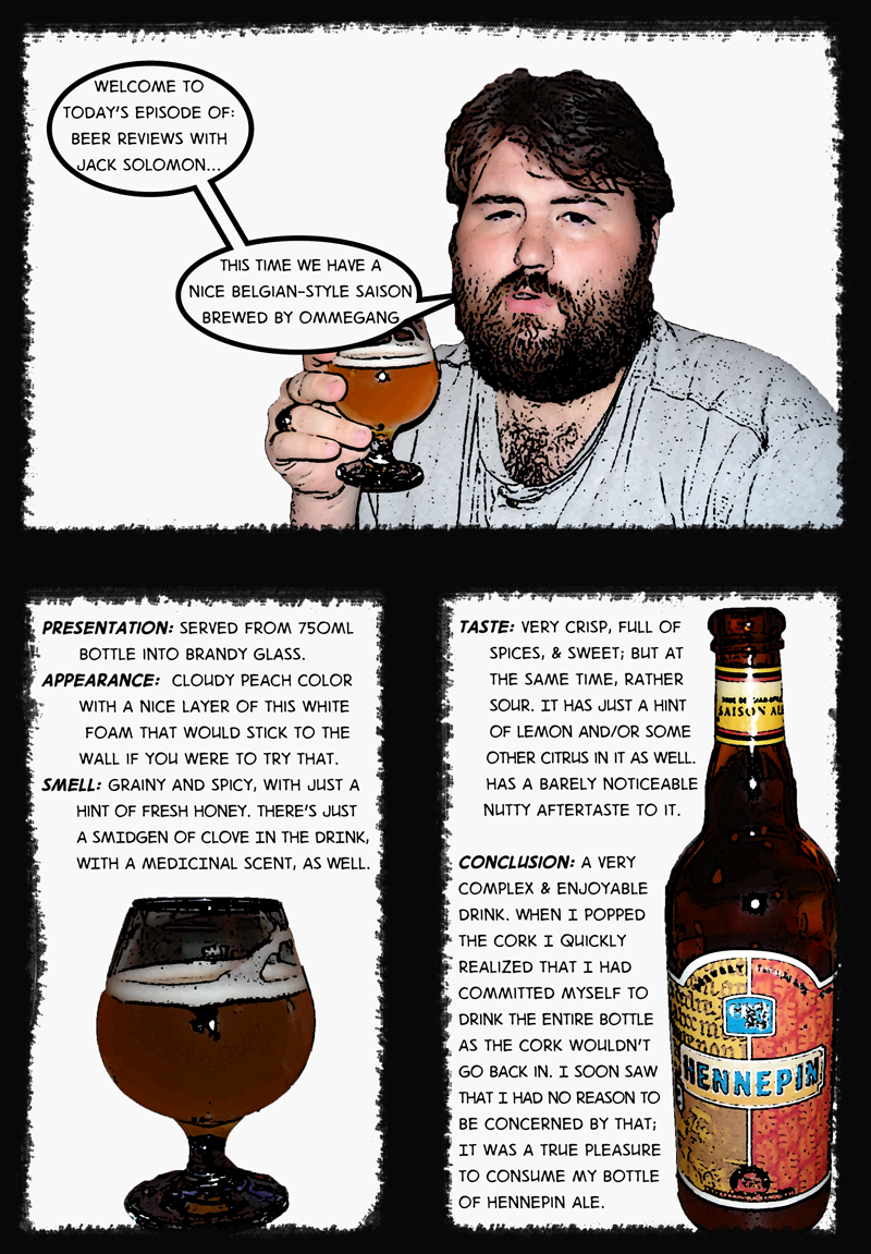 Beer Review with Jack - Hennepin Belgian-Style Ale