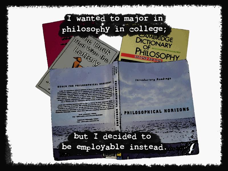 The Philosopher's Dilemma